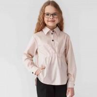 Biežinės spalvos su taškeliais marškiniai mergaitei