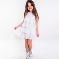 Suknelė mergaitei Karin (balta/pieno.spl)