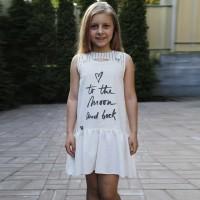 Lininė suknelė Zabava