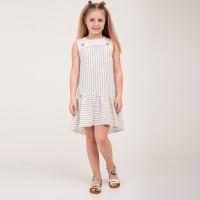 Lininė suknelė Zabava (BALTA)