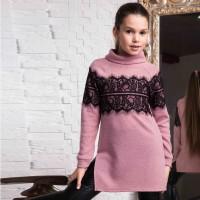 Tunika-džemperis Afina (rausvas)