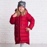 Žieminė striukė-paltas Deizi (raudona)