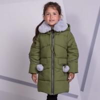 Žieminė striukė-paltas Viki (žalsva)
