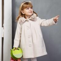 Paltas mergaitei MIMI (švs. rausvas)
