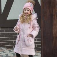 Žieminė striukė-paltas Tinki (rausva)