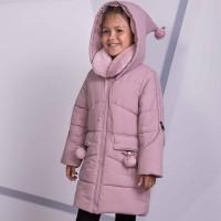 Žieminė striukė-paltas Viki (rausva)