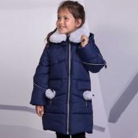 Žieminė striukė-paltas Viki (mėlyna)