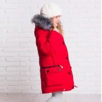 Žieminė striukė-paltas Helga (raudona)