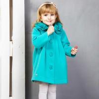 Paltas mergaitei MIMI (žalsvas)