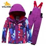 2 dalių žieminis VALIANLY kombinezonas 86-122 cm