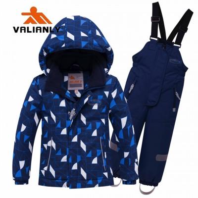 Mėlynas 2 dalių žieminis VALIANLY kombinezonas 110-140 cm