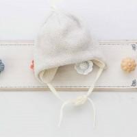 Vilaurita merino vilnos šilta kepurė kūdikiui