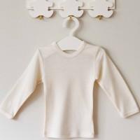 Vilaurita merino vilnos marškinėliai